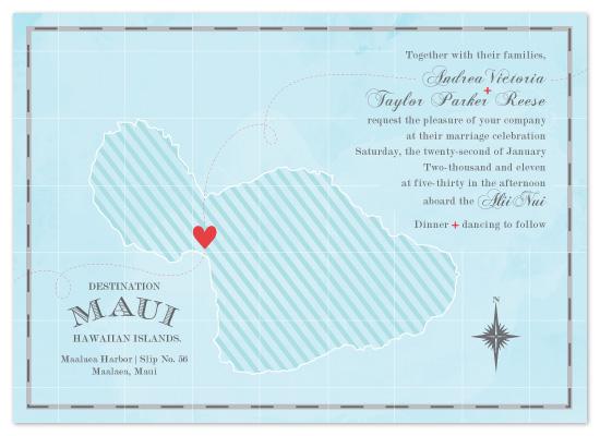 wedding invitations destination maui at mintedcom With maui destination wedding invitations