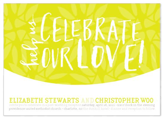 wedding invitations - saffron celebration by Lauren Fasnacht