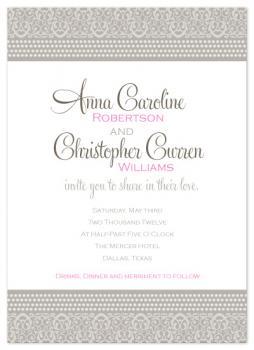 Perfect Pearls Wedding Invitations