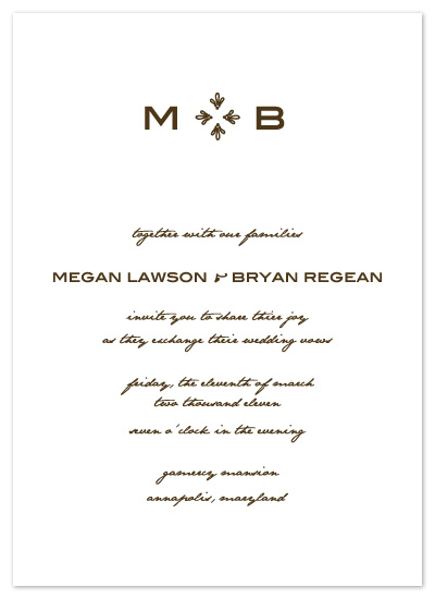 wedding invitations - Love Letter by Kathleen Burlew