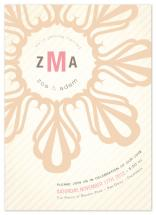 Striped Floral Emblem by Lizzy B Loves