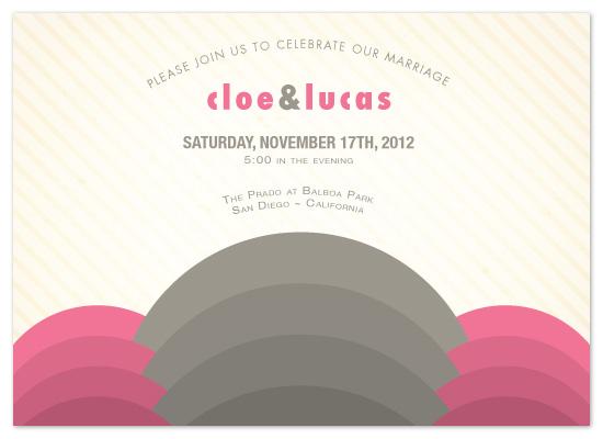 wedding invitations - Modern Deco by Lizzy B Loves