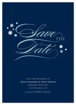 Chilly Breeze Save the Date Cards