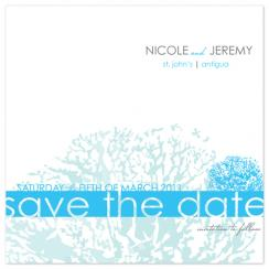 Reef Save the Date Cards
