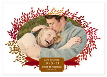 Falling in love Save the Date Cards