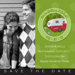 Wilderness Lovers Save the Date Cards