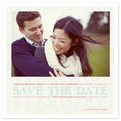 Elegance Save the Date Cards