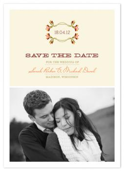 In Love Save the Date Cards