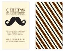 Mustache Mania by Bridget Collins