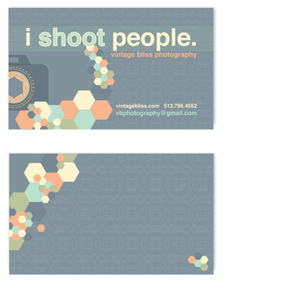 business cards - one shot by Cheryl Nachbauer