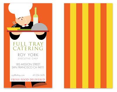 business cards - Chef's Apron by xyz studio