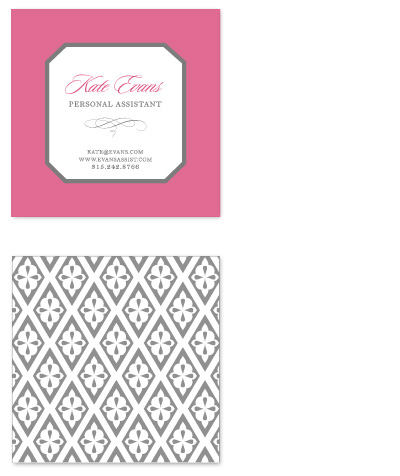 business cards Iron Lattice at Minted