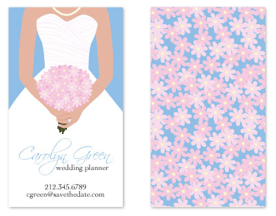 business cards - Save the Date by Alisse Catherine