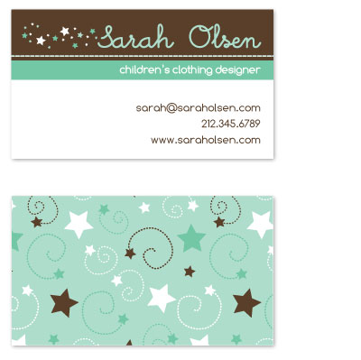 business cards - Super Star by Alisse Catherine