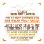 Pumpkin Party Invitatio... by Bridget Collins