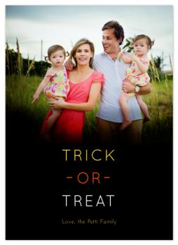 Trick-or-Treat Cards