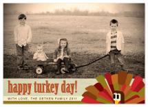 Wide Eyed Turkey by b.utiful stationery boutique