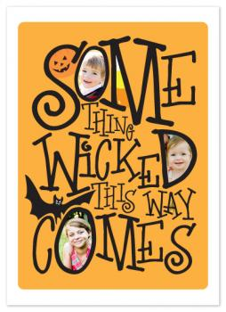 Something Wicked This Way Comes Cards