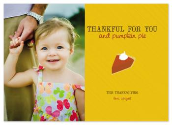 You and Pumpkin Pie Cards