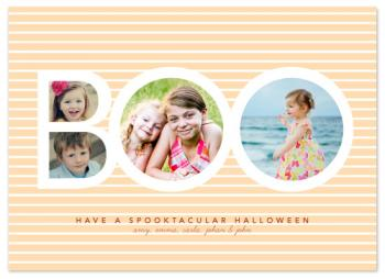 Boo Stripes Cards