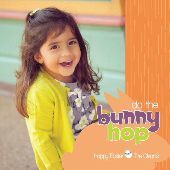 cards - Do the Bunny Hop by Lyndee King