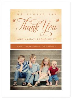 Mama's Thank You Cards