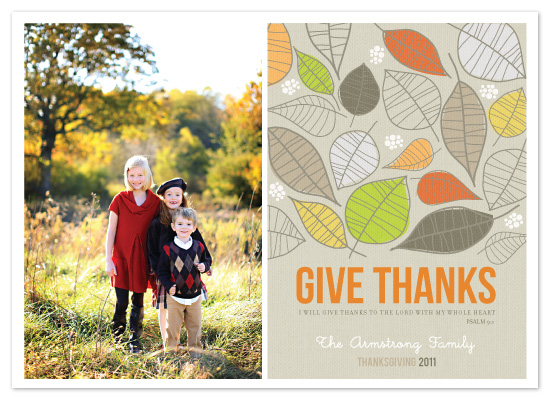 cards - Give Thanks by Penelope Poppy