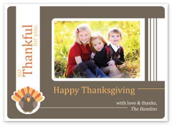 Thankful Turkey Cards