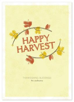 Happy Harvest Cards