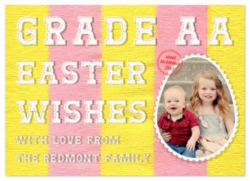grade AA easter Cards