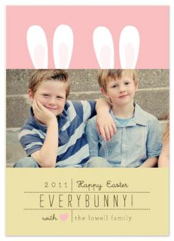 Easter Ears Cards