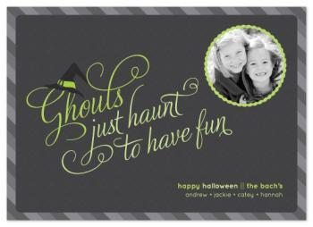 Ghouls Just Haunt to Have Fun!