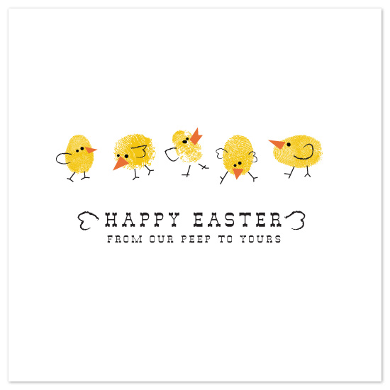 cards - From Our Peep to Yours by Bleu Collar Paperie