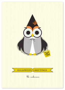Happy Owl-o-ween Cards