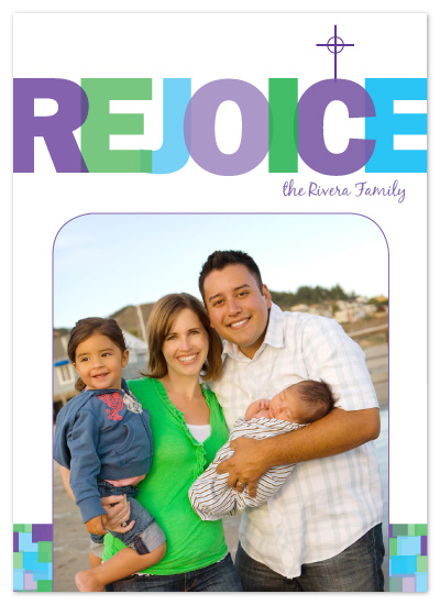 cards - Rejoice by Elizabeth Victoria Designs