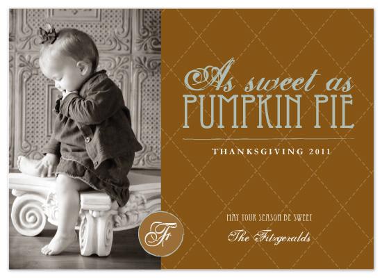 cards - pumpkin pie by Kayla Grunder