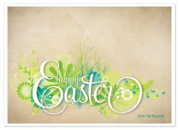 Blooming Easter Cards