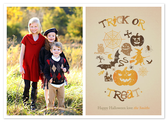 cards - Witchy Poo Trick or Treat by Rebecca McGrath