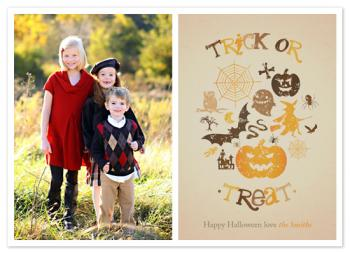 Witchy Poo Trick or Treat Cards