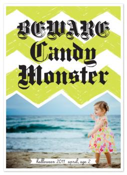 candy monster Cards
