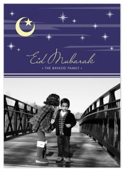 Eid Stars + Moon
