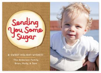 send some sugar Holiday Photo Cards