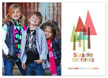 The Evergreens Holiday Photo Cards