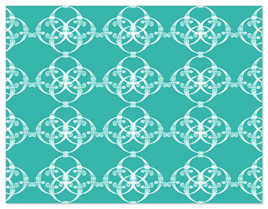 personal stationery - Rounded Weave by C.O. Boutique