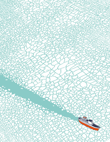 personal stationery - Ice-breaker by Francesco Bongiorni