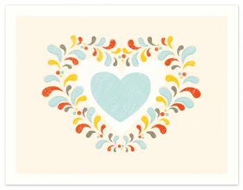 Growing Hearts Personal Stationery