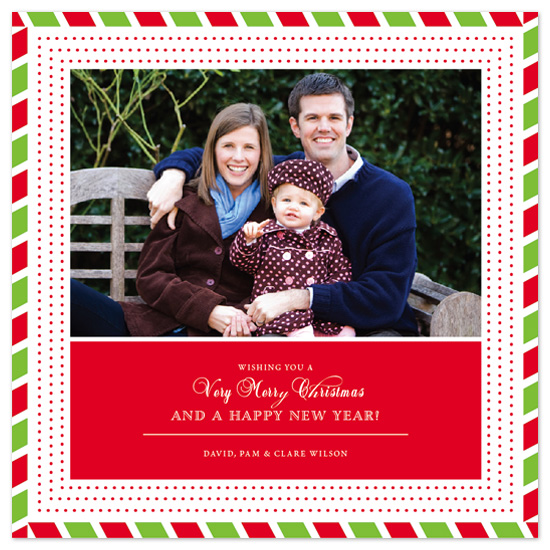 holiday photo cards - Festive Airmail by - Keg Design -