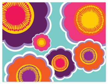 flowerpower Personal Stationery
