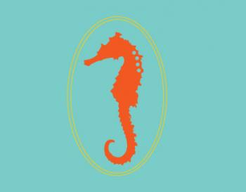 A Seahorse Portrait Personal Stationery