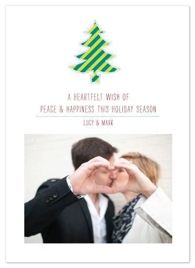 holiday photo cards - Cutout Tree